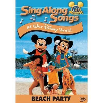 Sing Along Songs at Walt Disney World: Beach Party (DVD)(2005)