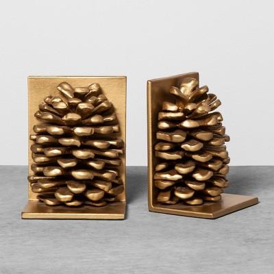 Decorative Bookend Pinecone - Hearth & Hand™ with Magnolia