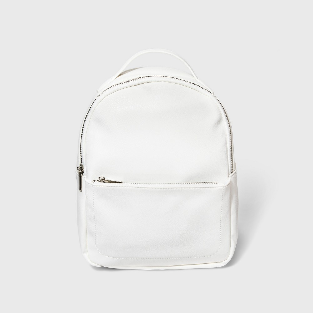 Mini Backpack - Wild Fable White
