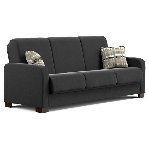 Thora Convert-a-Couch Futon Sofa Sleeper-  Handy Living - image 1 of 4