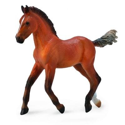 Breyer Animal Creations Breyer CollectA Series Bay Hanoverian Foal Model Horse