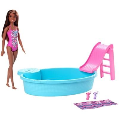 Barbie Pool & Doll Playset