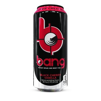 BANG Black Cherry Vanilla Energy Drink - 16 fl oz Can