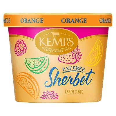 Kemps Orange Frozen Sherbet - 54oz
