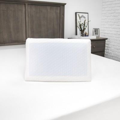 SensorPEDIC Essential Collection Gel-Overlay Memory Foam Comfort Bed Pillow