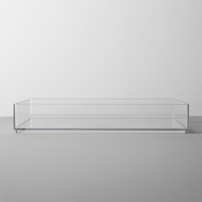 Plastic Organizer Tray 12 W X 8 D X 2 H Clear - Made By Design™