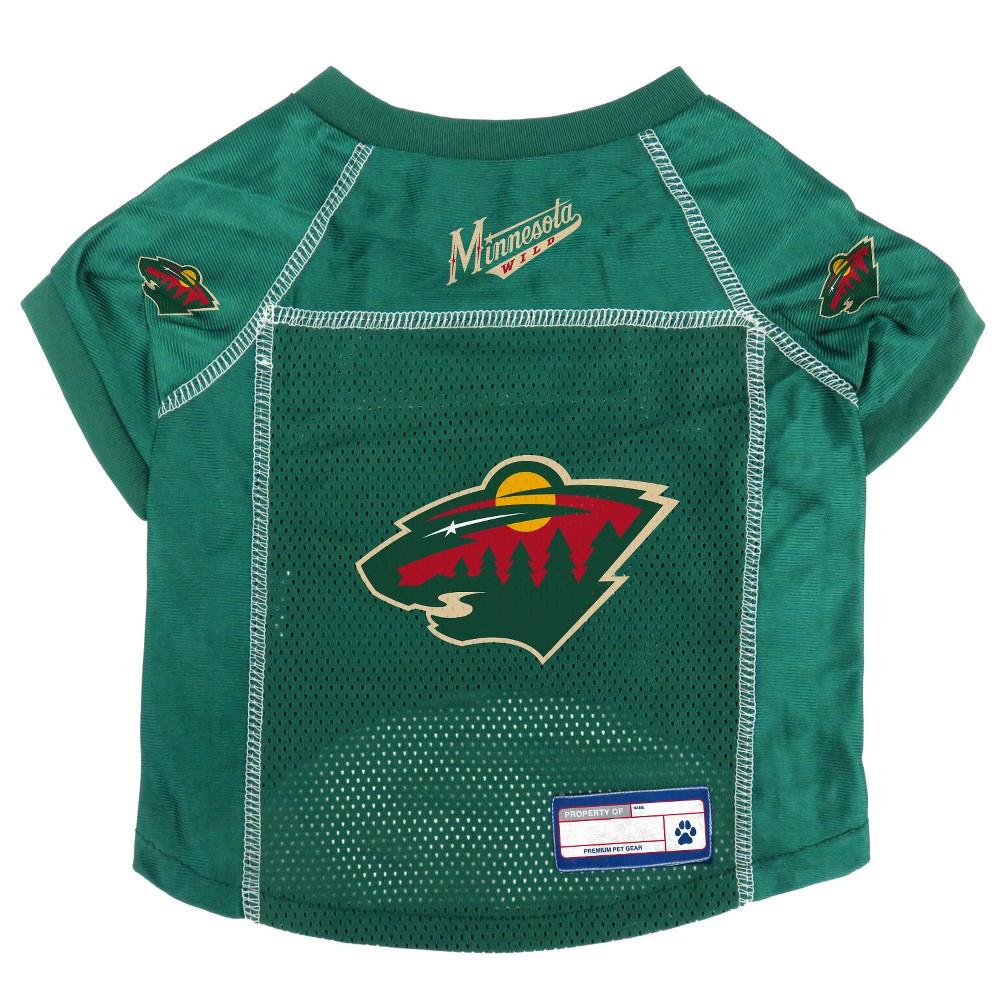 NHL Minnesota Wild Pet Jersey - XS, Multicolored