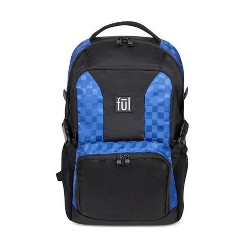 "FUL 18"" Jasper Backpack - Tonal Blue/Black - image 1 of 4"