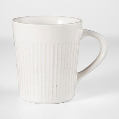 Stoneware Harrison Mug 9oz White - Threshold™