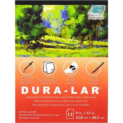 "Dura-Lar Clear .004 Wet Media Pad 11""X14""-12 Sheets"