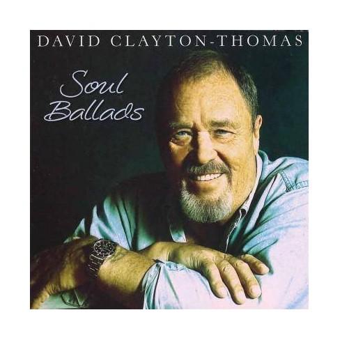 David Clayton-Thomas - Soul Ballads (CD) - image 1 of 1