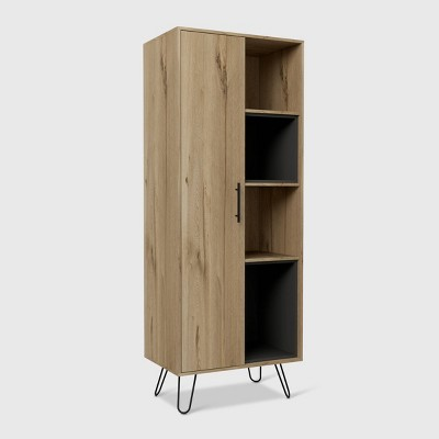 Aster Pantry Cabinet Light Wood - RST Brands