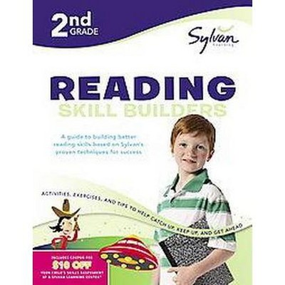 2nd Grade Reading Skill Builders ( Sylvan Workbooks) (Paperback) By  Christina Wilsdon : Target
