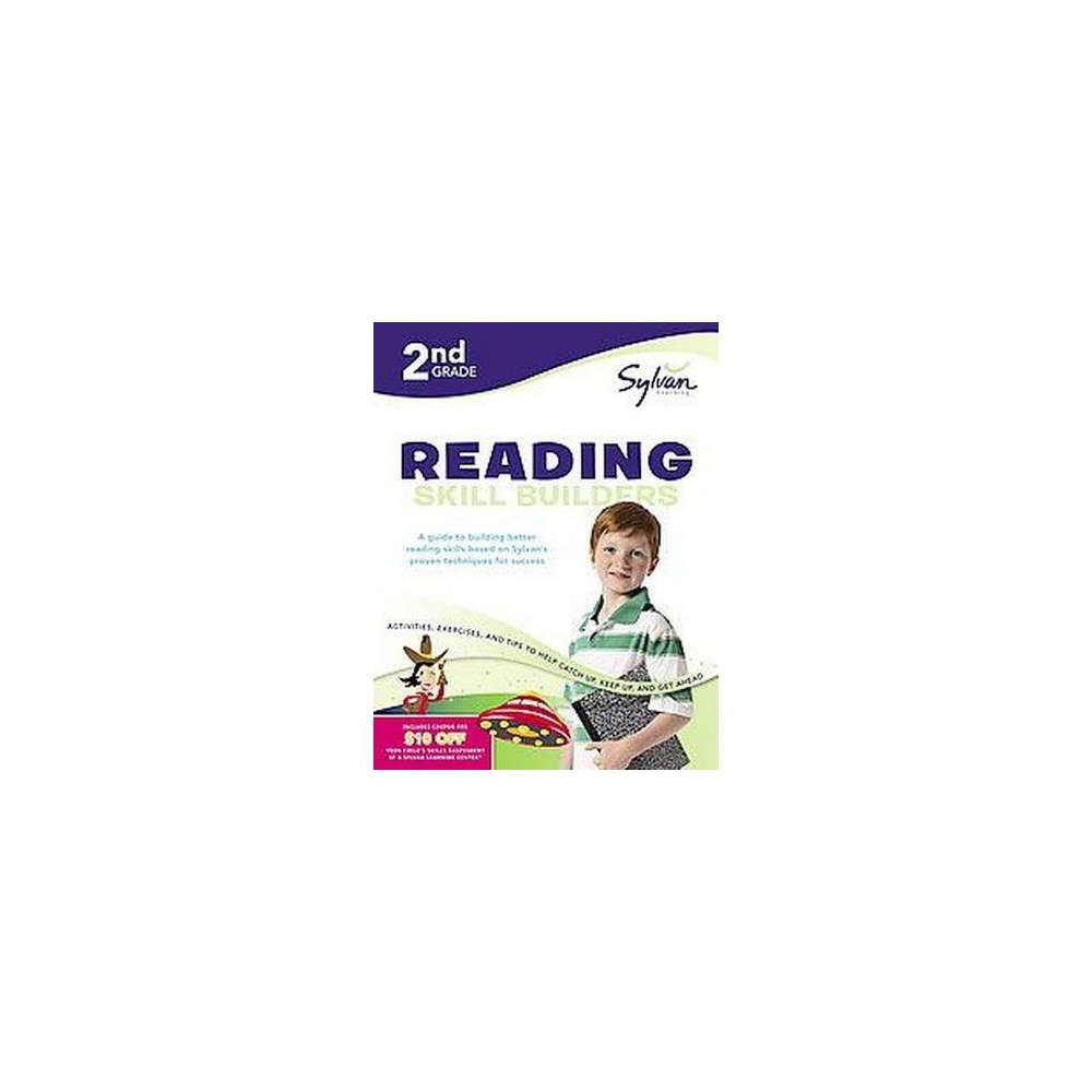 2nd Grade Reading Skill Builders Sylvan Workbooks Paperback By Christina Wilsdon