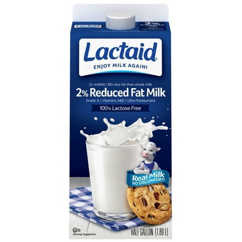 Lactaid Lactose-Free 2% Milk - 0.5gal - image 1 of 1