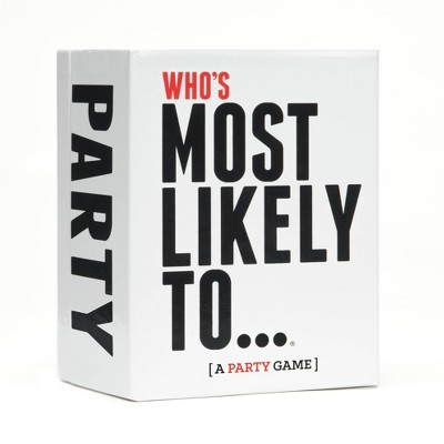 Who's Most Likely To - A Party Game