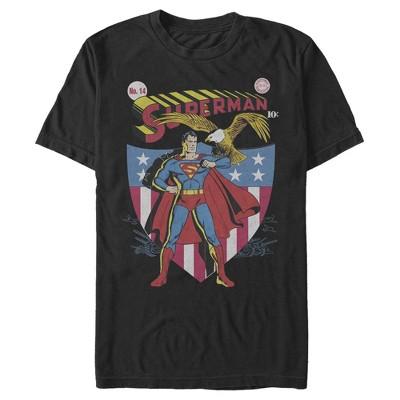 Men's Superman American Hero T-Shirt