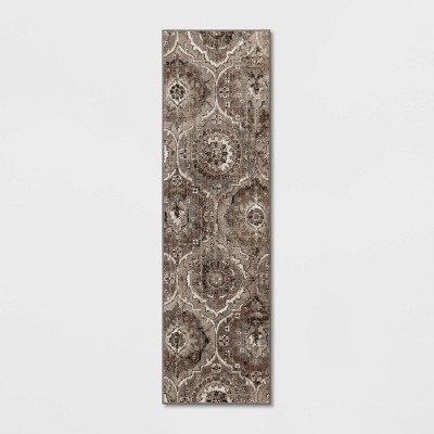 Bailey Companion Tile Print Accent Rug Tan - Threshold™
