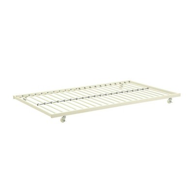 Gavin Universal Metal Trundle for Daybeds White - Room & Joy