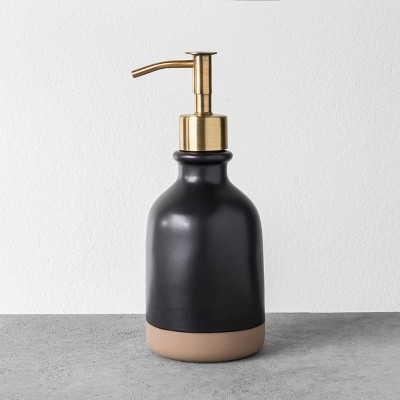 Soap Dispenser - Black - Hearth & Hand™ with Magnolia