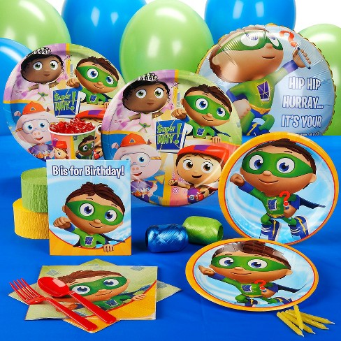 Super Why Birthday Party Pack For 16 Target