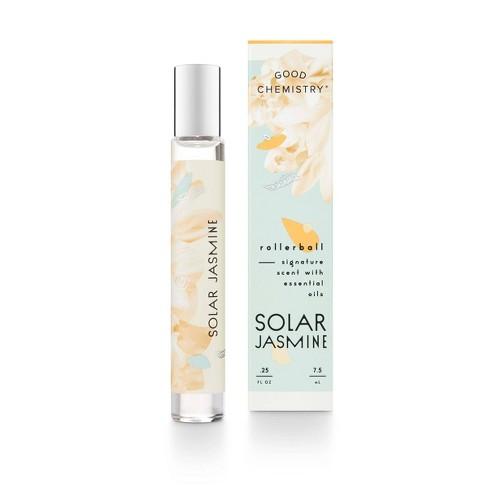 Solar Jasmine by Good Chemistry™ Women's Rollerball Perfume - 0.25 fl oz. - image 1 of 3