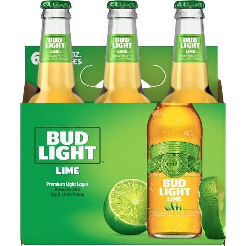 Bud Light Lime Beer - 6pk/12 fl oz Bottles - image 1 of 1