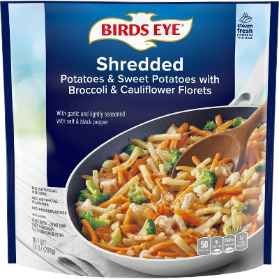 Birds Eye Shredded Frozen Sweet Potatoes with Broccoli & Cauliflower - 10oz
