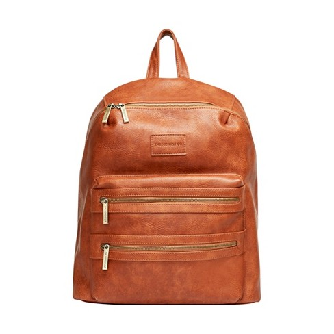 Honest Company City Diaper Backpack - Cognac - image 1 of 1