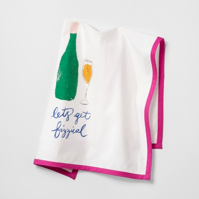 Let's Get Fizzical Kitchen Towel - Opalhouse™