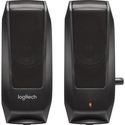 Logitech S120 Speaker System - Black (980-000309)