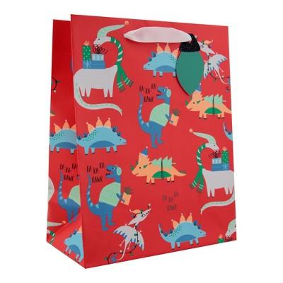 sc 1 st  Target & Dinosaur Christmas Gift Bag Red - Wondershop™ : Target
