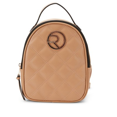 Rampage Women's Diamond Quilt Mini Dome Backpack