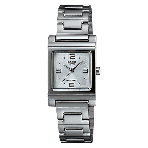 Casio Women's White Dial Watch - Silver (LTP1237D-7A) - image 1 of 1