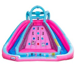 L.O.L. Surprise! Inflatable River Race Water Slide with Blower, Kids Unisex