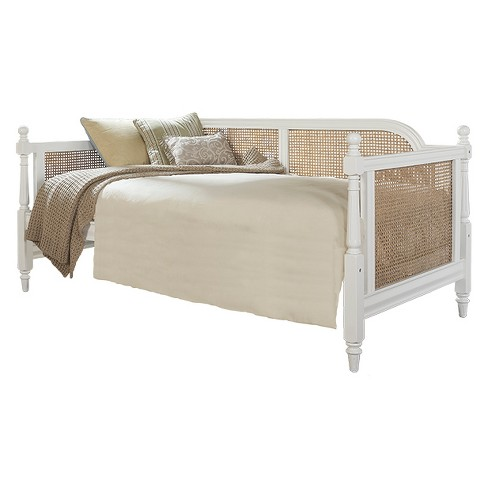 Melanie Upholstered Daybed Twin White Fabric Hillsdale Furniture