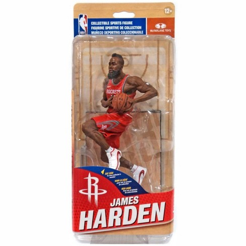 McFarlane Toys NBA Houston Rockets Sports Picks Series 31 James Harden Action Figure [Red Away Uniform] - image 1 of 1