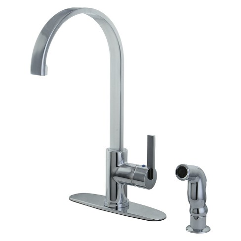 Modern Single Lever Kitchen Faucet - Kingston Brass - image 1 of 2