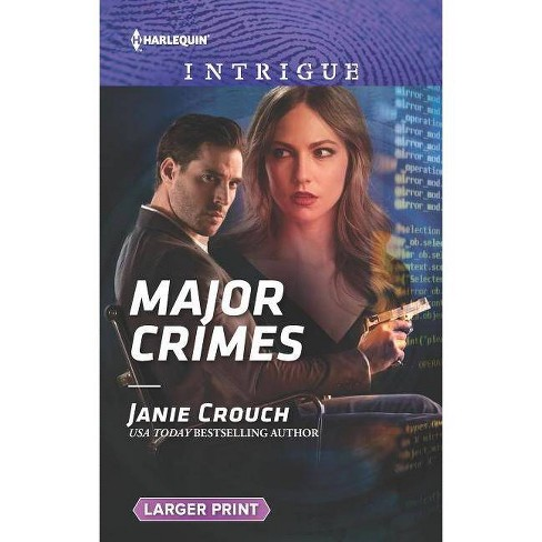 Major Crimes - (Omega Sector: Under Siege) by  Janie Crouch (Paperback) - image 1 of 1