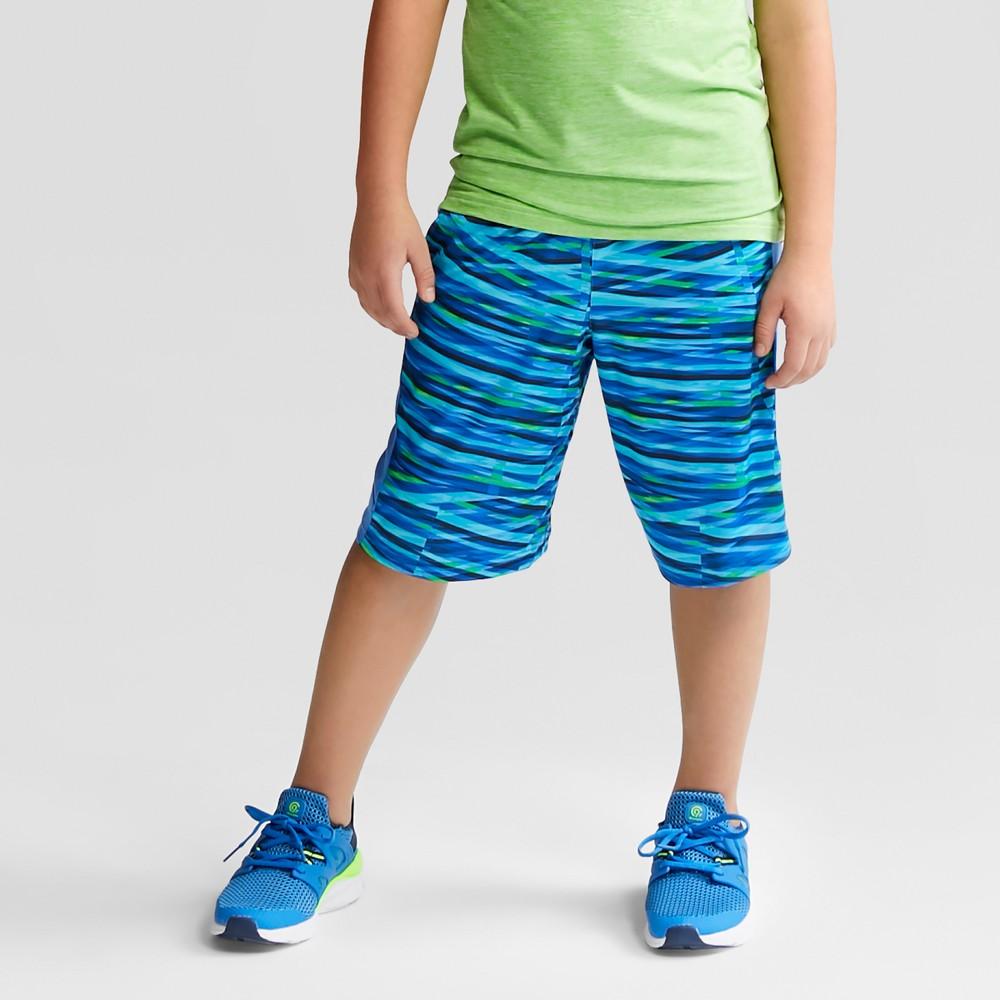 Boys' Printed Training Shorts - C9 Champion Blue M