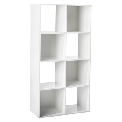 "11"" 8 Cube Organizer Shelf White - Room Essentials™"