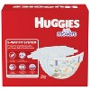 Huggies Little Movers Baby Disposable Diapers Size 4 - 120ct + Overnite Baby Diapers Size 4 - 58ct + Natural Sensitive Baby Wipes - Bundle - image 2 of 4