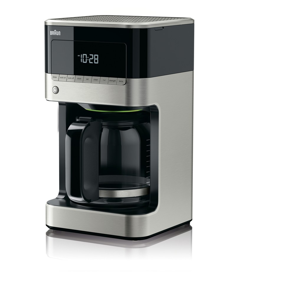 Braun Coffee Maker Stainless Steel & Black 52897853