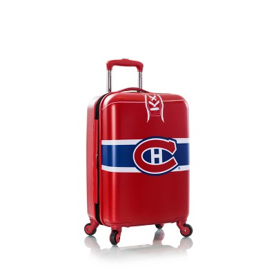 "NHL Montreal Canadiens 21"" Spinner Wheels Suitcase"
