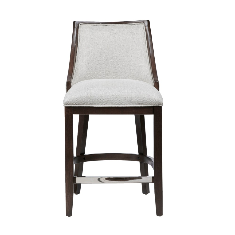 Rolph Counter Stool Cream/Brown