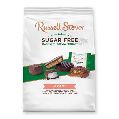 Russell Stover Sugar Free Gusset Bag - Assorted - 17.85oz