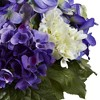 Nearly Natural Mixed Hydrangea with Vase - image 3 of 3