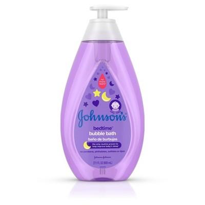 Johnson's Bedtime Bubble Bath - 27.1oz