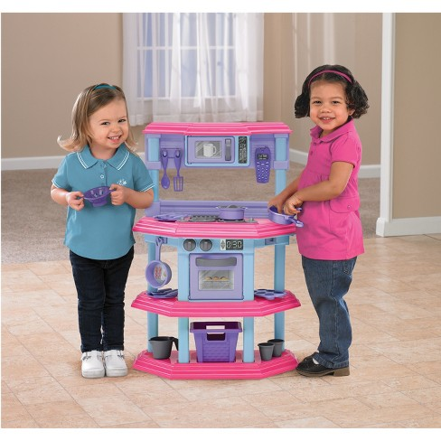 American Plastic Toys Sweet Treat Kitchen Set Target