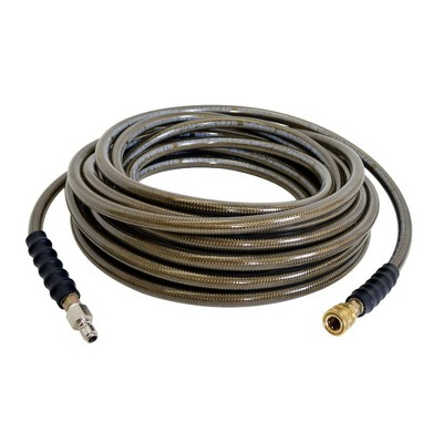 Simpson MH10038QC 3/8 in. x 100 ft. 4,500 PSI Extension/Replacement Pressure Washer Monster Hose